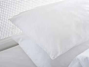 Plain Калъфка за Възглавница 50x70 См Бяло