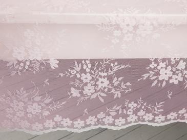 Cherry Blossom Örme Masa Örtüsü 145x220 Cm Pembe