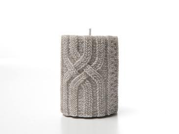 Ingaro Свещ 7,5x7,5x10,5 См Бежово