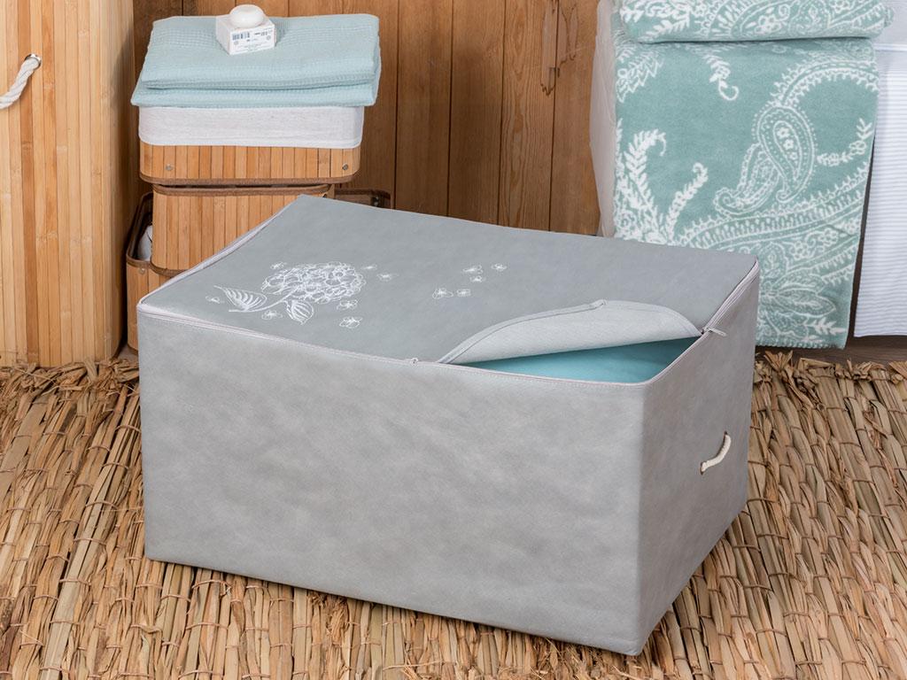 Hortensia Storage Bag 64x41x35 Cm Light Gray