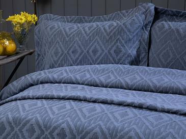 Diamond Chic Комплект Покривало за Легло Двоен Размер 240x250 См Тъмносиньо