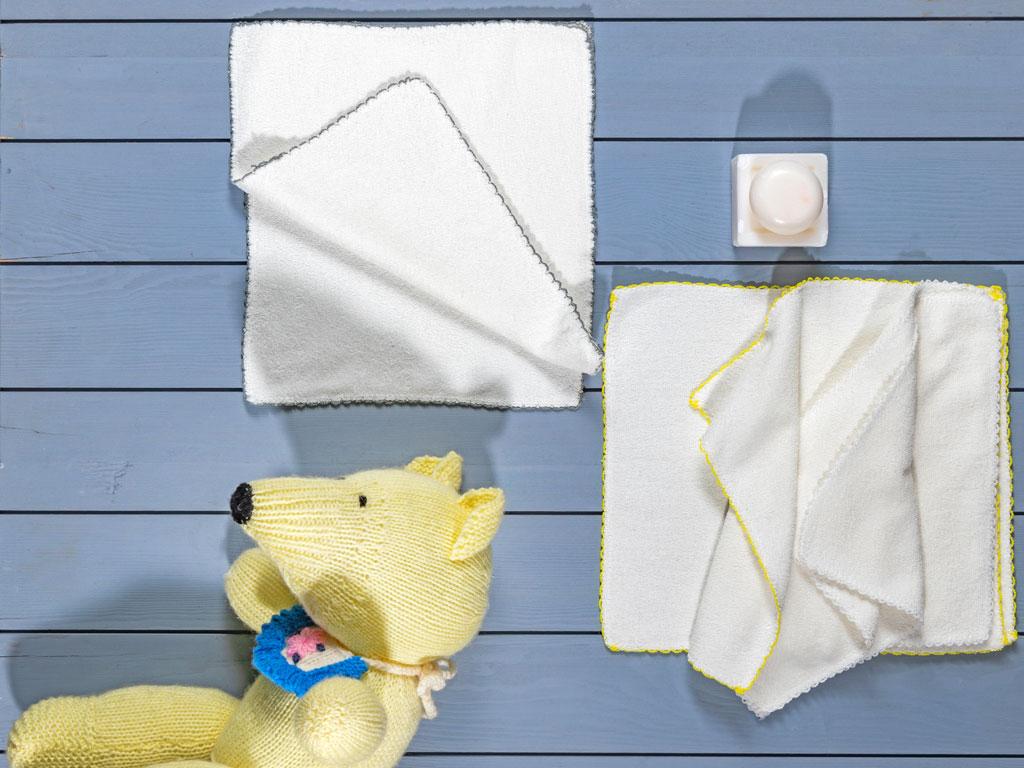 Towel Baby Sweat Towel 6 Piece 100x150 Cm Cream