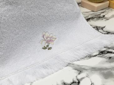 Magnolia Хавлия за Ръце 30x45 См Бяло-Лилаво