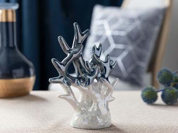 Marbled Декоративен Предмет 10,6x5,8x14,6 См Синьо