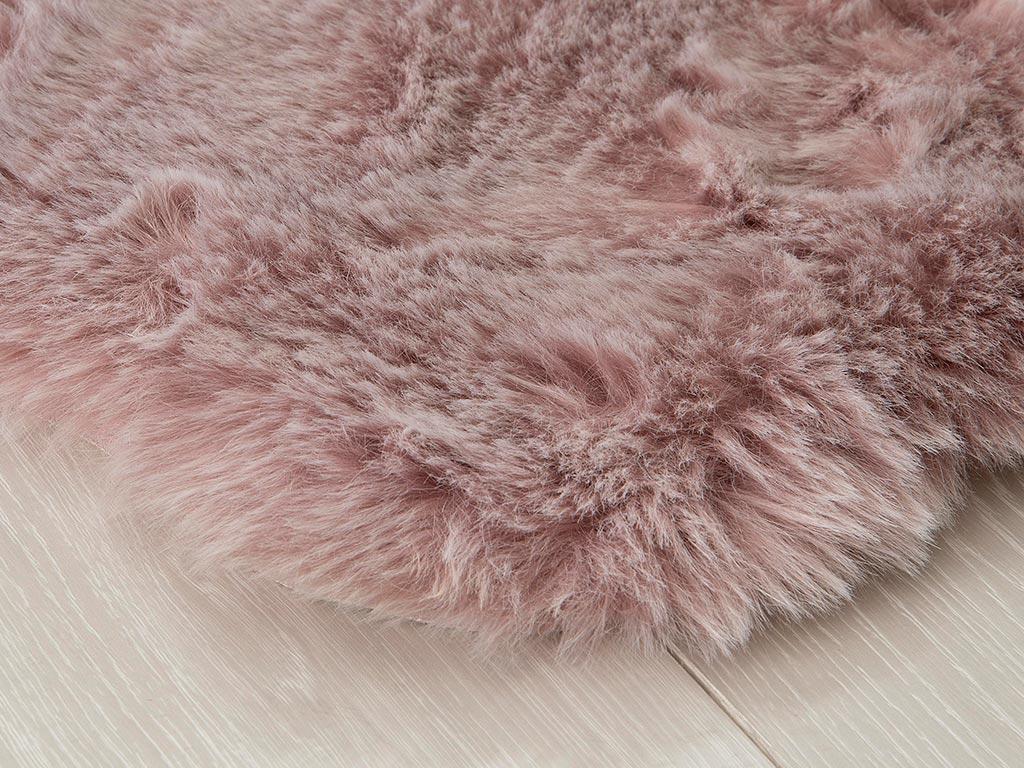 North Fake Fur Carpet 90x150 Cm Pink