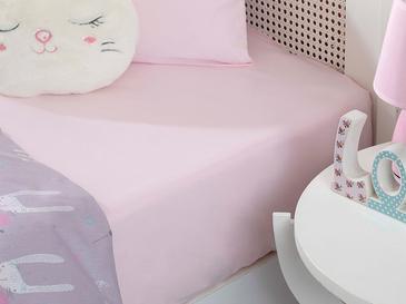 Soft Бебешки Чаршаф С Ластик 70x140 См Розово
