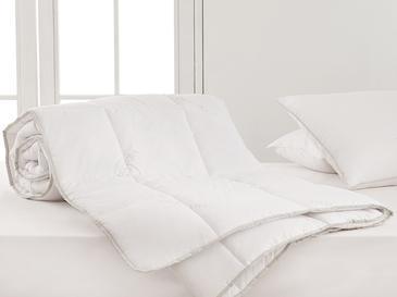 Natural Aloevera Юрган Единичен Размер 155x215 См Бяло