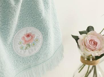 Big Rose Хавлия за Ръце 30x40 См Зелено