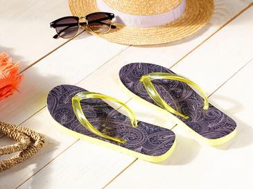 Paisley Дамски Чехли за Плаж 36 Индиго