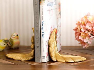 Pureness Поставка За Книги 25x10,5x13 См Златисто