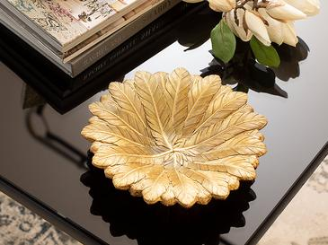 Pure Iris Декоративна Чиния 19x19x4,5 См Златисто