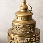 Antique Shop Фенер Метал 16,5x16,5x35 См Златисто