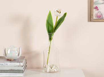 Ragged Orchid Изкуствено Цвете 39 См Бяло