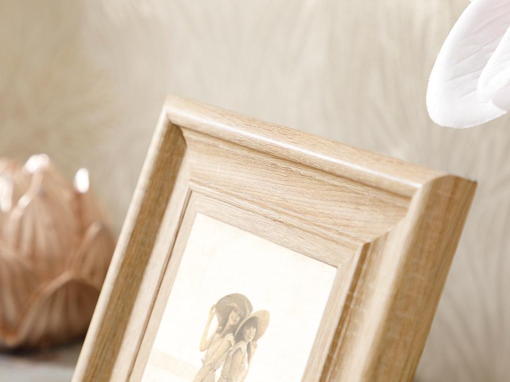 Wooden Frame 10x11 Cm Brown