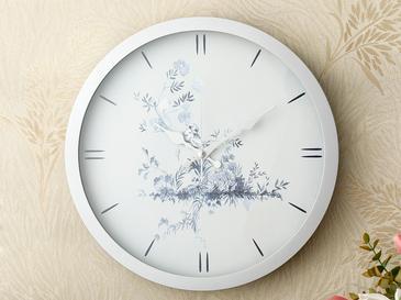 Tual Стенен Часовник 30 См Сребристо