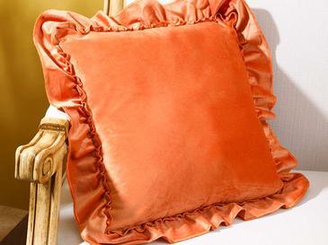Boho Chic Декоративна Калъфка за Възглавница 45x45 См Портокал