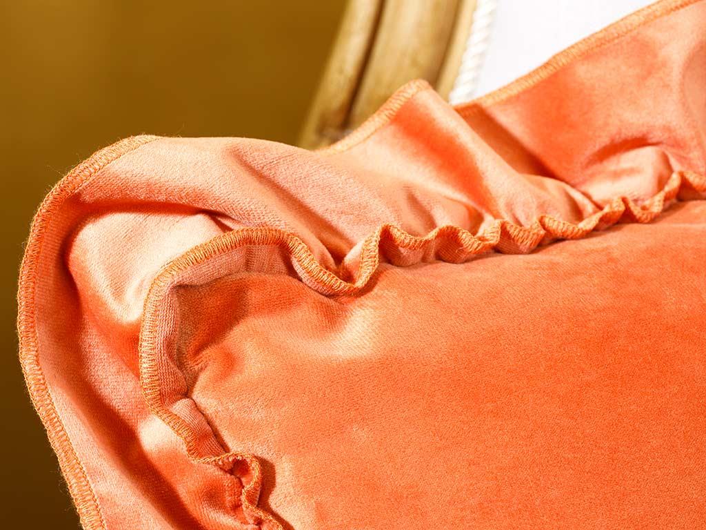 Boho Chic Cushion Cover 45x45 Cm Orange