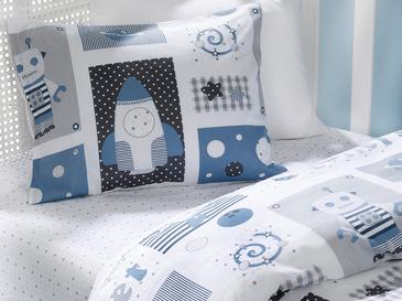 New Planet Комплект Бебешко Спално Бельо 100x150 См Синьо