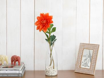 Peony Изкуствено Цвете 67 См Оранжево