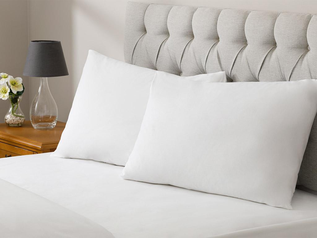 White Collection Cotton Duvet Cover Full Set Single Size 160x220 Cm White