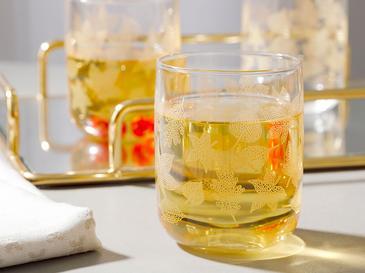 Allure Чаша за Безалкохолно 3 Бр. 270 Мл Светлозлатисто
