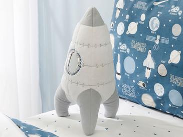 Space Декоративна Възглавничка 36x19 См Бяло