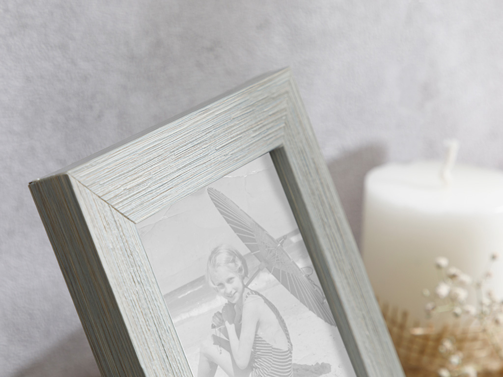 Point Frame 10x15 Cm Gray