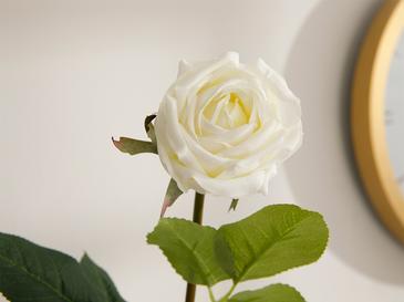 Corsage Изкуствено Цвете 44 См Бяло