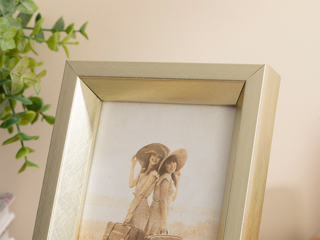 Glamour Frame 10x15 Cm Silver