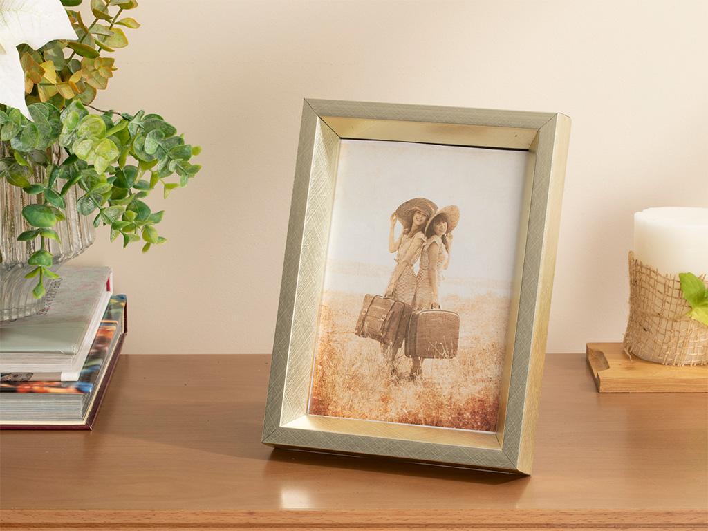 Glamour Frame 13x18 Cm Silver