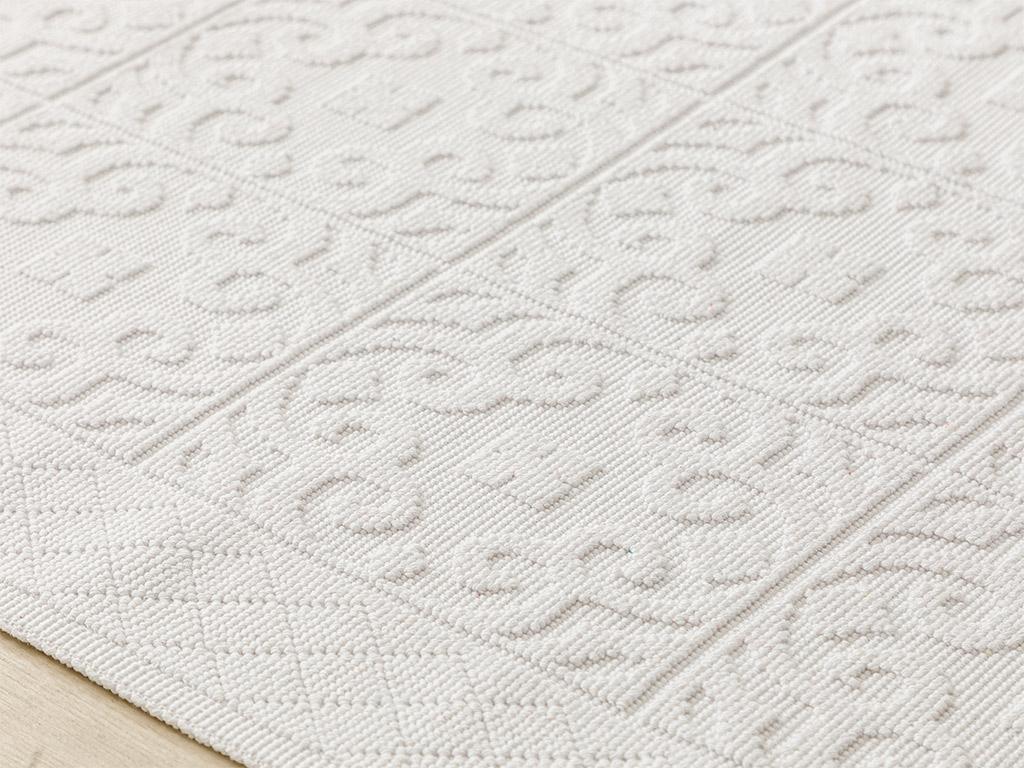Curl Cotton Rug 80x150 Cm White
