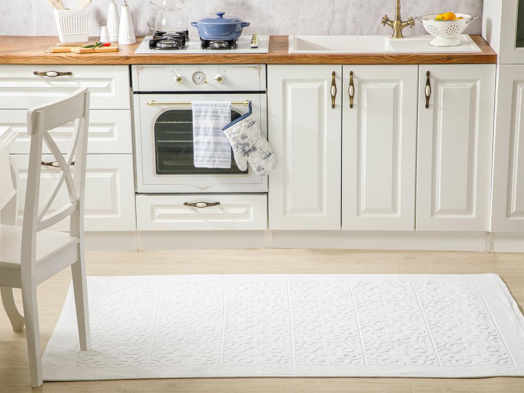 Curl Cotton Rug 120x180 Cm White