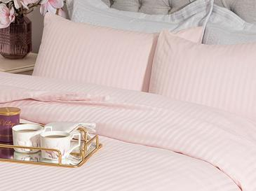 Crystal Комплект Спално Бельо Super King Size 260x220 Cм Розово