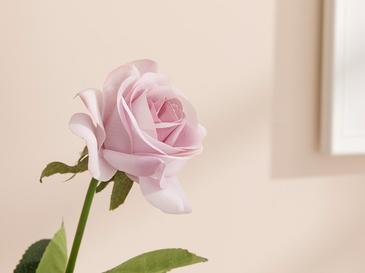Glam Rose Изкуствено Цвете 42 См Светловиолетово
