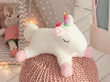 Mini Unicorn Декоративна Възглавничка 32x24 См Бяло