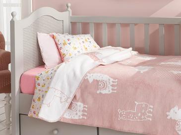 Lama Бебешко Одеяло 100x120 См Розово