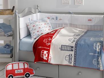 Mini Cars Бебешко Одеяло 100x120 См Червено