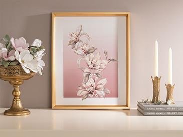 Magnolia Декоративно Табло 43x53 См Пудра