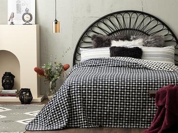 Памучно Одеяло Единичен Размер 150x200 См Бяло