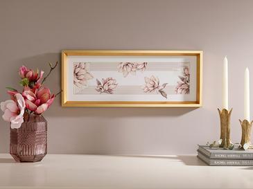 Magnolia Bundle Декоративно Табло 52x21 См Пудра