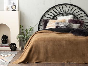 Plain Одеяло Единичен Размер 150x200 См Черно-Бежово