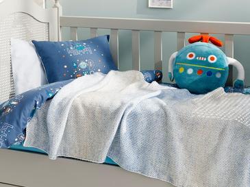 Degraded Бебешко Одеяло 80x120 См Синьо