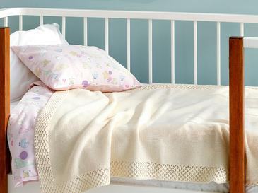 Bordure Бебешко Одеяло 80x120 См Екрю