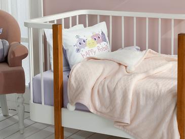 Luxe Бебешко Одеяло 80x120 См Розово
