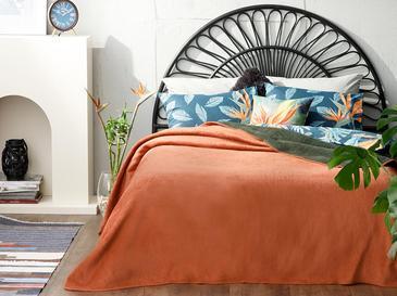 Plain Одеяло Единичен Размер 150x200 См Керемидено-Каки
