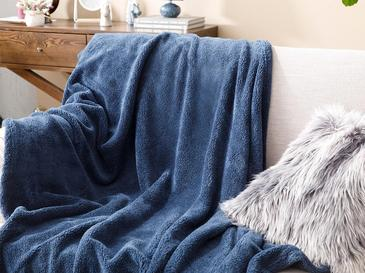 Softy TВ Одеяло 120x170 См Синьо