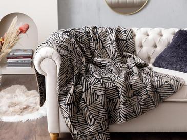 Arty Stripe ТВ Одеяло 130x170 См Черно