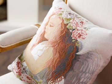 Angel Декоративна Калъфка за Възглавница 45x45 См Екрю