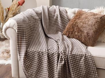 Pied de Poule ТВ одеяло 120x170 См Кафе