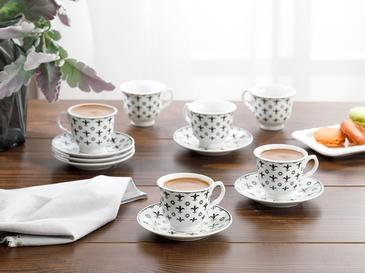 Ilda Комплект Чаши за Кафе 12 Бр. 90 Мл Черно